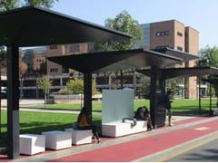 Metalco, GPDUE | Pensilina per fermata autobus  Pensilina per fermata autobus
