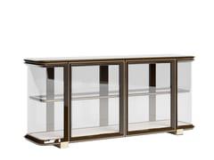 Madia in legno e vetro con illuminazione integrataGRACE | Madia in legno e vetro - VOLPI SEDIE E IMBOTTITI