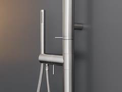 Doccia esterna in acciaio inox con doccettaGRADI 26 - CEADESIGN
