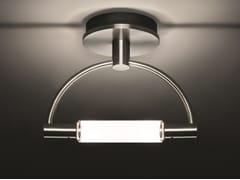 Lampada LED da parete e soffitto a luce indiretta in acciaioGRADI MINISOFFITTO LED - CINI&NILS