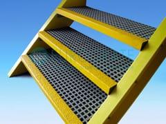 Gradino in vetroresina per scale di sicurezzaGRADINI EUROTRED® IN VETRORESINA PRFV - DIV. EUROGRATE - TICOMM & PROMACO