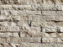 Rivestimento in pietra ricostruitaGRAFFIO P35 | Bianco Melange - GEOPIETRA