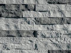 Rivestimento in pietra ricostruitaGRAFFIO P35 | Grigio Melange - GEOPIETRA