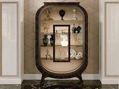 Vetrina in legno e vetro in stile libertyGRAN DUCA | Vetrina in ebano - PRESTIGE