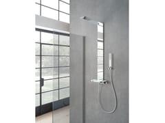 Colonna doccia a parete con doccettaGRAN PARADISO - WEISS-STERN