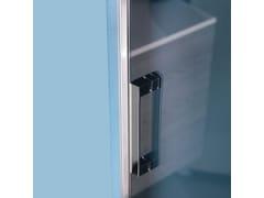 Box doccia a nicchia rettangolare con porta a battenteGRAND POLARIS   Box doccia a nicchia - SAMO
