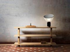 Consolle rettangolare in rovere e legno masselloGRANDE CONSOLE | Consolle in legno - OBJETS ARCHITECTURAUX