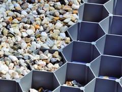 Grigliato calpestabile carrabile in plasticaGRAVELFIX GRIGIO - GRANULATI ZANDOBBIO