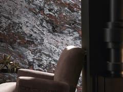 Carta da parati lavabile panoramica effetto marmo GRAY & RED SARRANCOLIN MARBLE | Carta da parati panoramica - Marbles