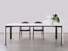 Tavolo rettangolare in marmo di Carrara GREGORIO | Tavolo in marmo di Carrara - Gregorio
