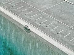 Bordo per piscina in pietra sinterizzataGRIGLIA - PIETRA SINTERIZZATA