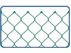 Rete zincata e plastificata a semplice torsioneGRIGLIA PLASTIFICATA | 50 x 50 STANDARD - METALLURGICA IRPINA