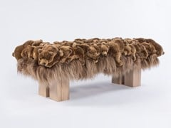 Panca imbottita in poliestere GRIZZLY BENCH - APCOLLECTION
