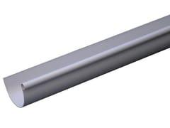 Canale di gronda in PVC grigioGRN116N / GRN116N2 - FIRST CORPORATION