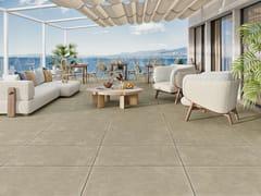 Love Tiles, GROUND 20MM Pavimento in gres porcellanato effetto cemento