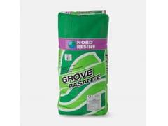 Rasante monocomponente a base cementoGROVE RASANTE - NORD RESINE