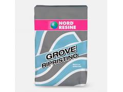 NORD RESINE, GROVE RIPRISTINO Malta fibrorinforzata tixotropica a presa normale