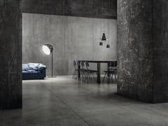 Pavimento/rivestimento in gres porcellanatoGRUNGE CONCRETE 300X150 CM - IRIS CERAMICA