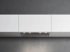 Cappa in acciaio inox ad incasso con illuminazione integrata classe BGRUPPO INCASSO NO-DROP - FALMEC