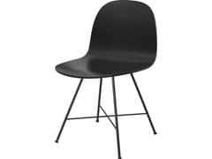 Sedia in legno2D DINING CHAIR | Center base - GUBI