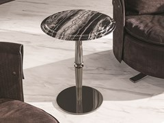 Tavolino rotondo in marmo GUERIDON | Tavolino in marmo - Loveluxe - Regency
