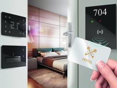 Sistema di building automation per strutture alberghiereHOTEL ROOM MANAGEMENT - BTICINO