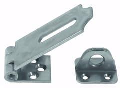 Unifix SWG, Cerniera con portalucchetto in acciaio Cerniera con portalucchetto in acciaio zincato