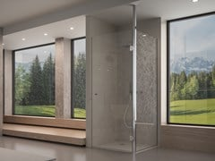 Saint Gobain Glass, Sistema doccia Box doccia in vetro