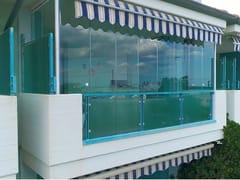 Belle Vetrate Scorrevoli, Chiusura balconi Vetrate scorrevoli panoramiche tutto vetro