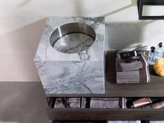 Lavabo da appoggio in granitoLavabo in granito - GAMADECOR