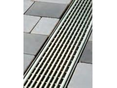 Griglia a barre longitudinali con profilo triangolare Griglia con profilo triangolare - ACO DRAIN ® Multiline