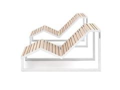Sedia a sdraio in metalloH24 | Sedia a sdraio - URBANTIME
