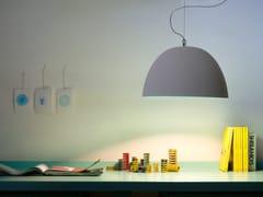 Lampada a sospensione in vernice effetto cemento H2O CEMENTO - Matt Cemento