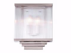 Lampada da parete fatta a mano in ottoneHAMBURG II   Lampada da parete - PATINAS LIGHTING