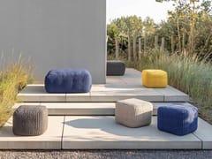 Pouf da giardino quadrato in PETHAMPTON | Pouf da giardino - JARDINICO
