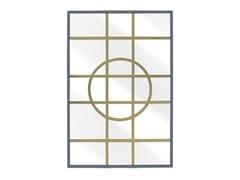 Specchio rettangolare con cornice da pareteHAMPTON | Specchio - ABRISSI