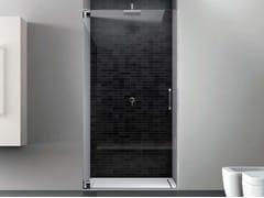 Box doccia a nicchia con porta a battente HAND HNNI - Hand