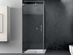Box doccia con porta battente con lato fisso HAND HNPO + HNFI - Hand