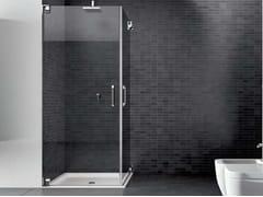 Box doccia con porta angolare a doppio battente HAND HNPOx2 - Hand