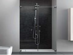 Box doccia in nicchia con porta a doppio battente HAND HN2P - Hand