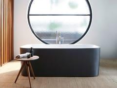 Vasca da bagno centro stanza rettangolare in acrilicoHAPPY D.2 PLUS | Vasca da bagno - DURAVIT