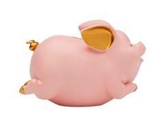 Salvadanaio in resinaHAPPY PIG PINK - KARE-DESIGN