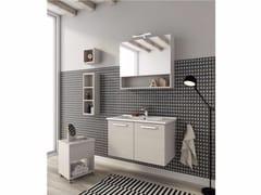 Mobile lavabo sospeso con ante HARLEM H13 - Urban