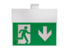 Luce di emergenza a LED per segnaletica in policarbonatoHARPER 320 | Luce di emergenza per segnaletica - INIM ELECTRONICS UNIPERSONALE