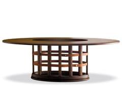 Tavolo da pranzo ovaleHARRIS - 712005 | Tavolo da pranzo - GRILLI