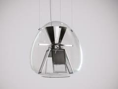 Lampada a sospensione a luce diretta in vetro soffiatoHARRY H. - ARTEMIDE