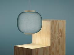 Lampada a sospensione a LED in tessutoHAZE - ZERO