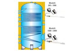 EMMETI, HE2V   Boiler per impianto solare termico  Boiler per impianto solare termico