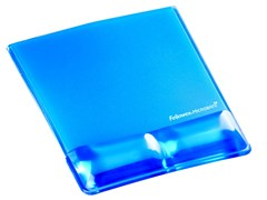 Supporto palmare da tastiera / mousepad HEALTH-V™ CRYSTAL - FELLOWES