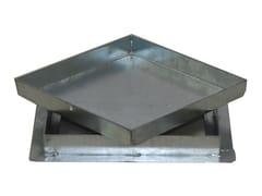 """Sigillo pesante con telaio a """"T"""" in acciaio zincato a caldo SIGILLO PESANTE IN ACCIAIO ZINCATO - drenaggio"""